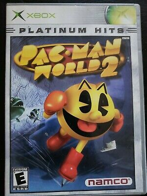 Pac Man World 2 Microsoft XBOX TESTED CLEAN