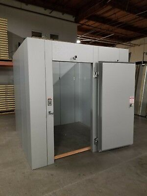 New 8 X 8 X 8 Walk-in Cooler Made W 100 Us Made Materials...only 4460