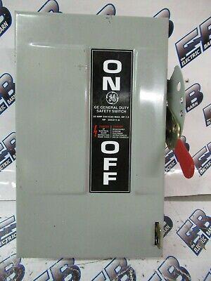 Ge Tg3221 Model 8 30 Amp 240 Volt 2p3w Fusible Disconnect