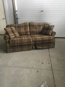 Loveseat with pull out bed  London Ontario image 1