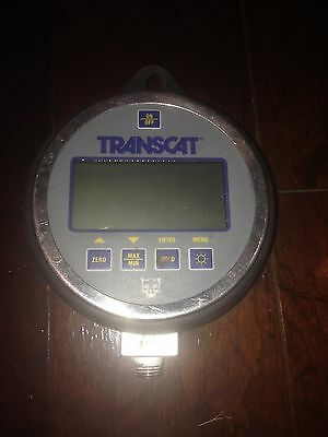 Transcat Model 95419pr Proline Digital Pressure Gauge - Class1 Div 2 - 938