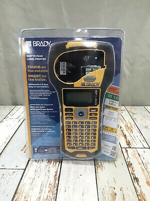 Brady Bmp 21-plus Portable Industrial Handheld Label Printer-works