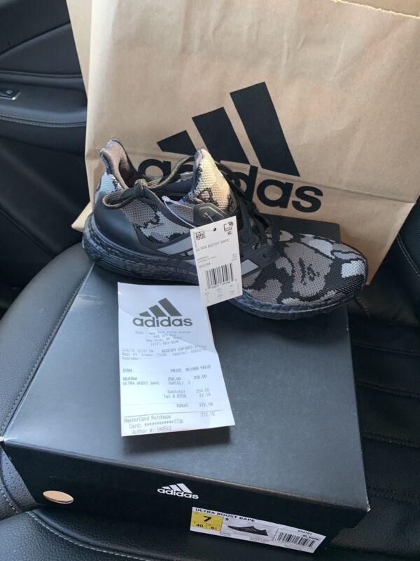 6ad182f4b Adidas Ultra Boost 4.0 Bape Black Camo Size 7 DS 2019 W Receipt G54784  Superbowl