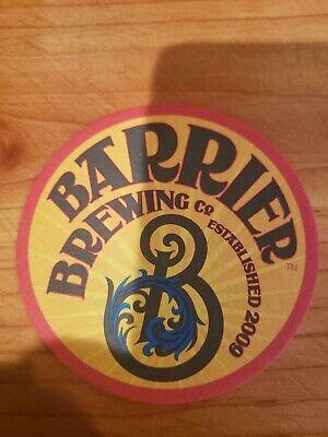 Barrier Brewing Coaster, Oceanside NY