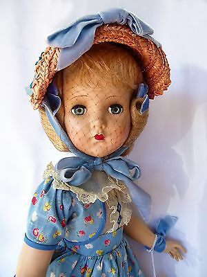 "STUNNING!!! VINTAGE BIG 22"" NANETTE DOLL ""ALL ORIGINAL"" NEVER PLAYED WITH"