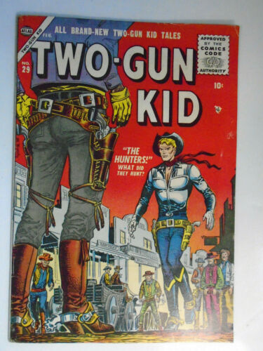 Two-Gun Kid #29, The Hunters, Fine, 6.0, Pretty Comic, White Pages