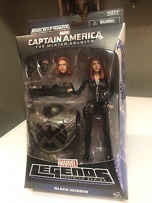 Marvel Legends Infinite Black Widow MANDROiD BAF Action  figure Mint Condition