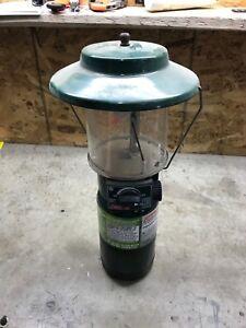 Coleman camping lantern