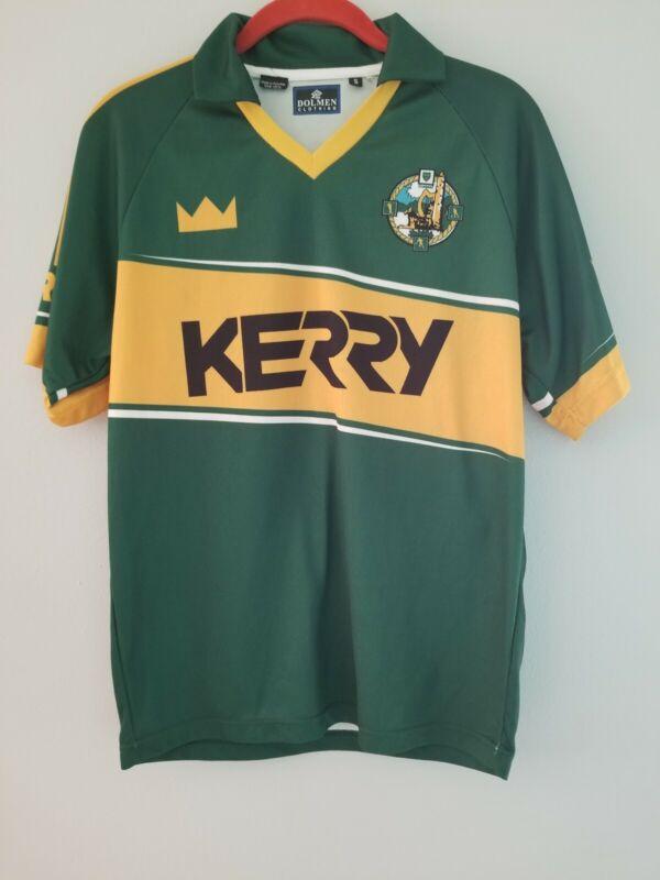 Mens Small S Kerry Irish Gaelic GAA Football Jersey Shirt - Vintage Style