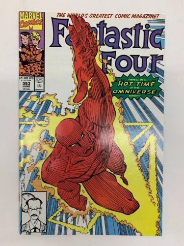 Fantastic Four #353 (1991) 1st App Mr. Mobius (Disney Loki Series) VF+/NM Marvel