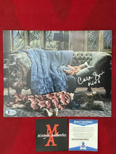 CARLA GUGINO AUTOGRAPHED SIGNED 8x10 PHOTO! THE HAUNTING OF HILL HOUSE! BECKETT!