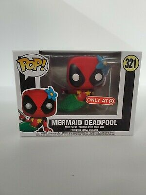 Funko Pop! Marvel - Deadpool - Mermaid Deadpool #327 (Target EXCL)