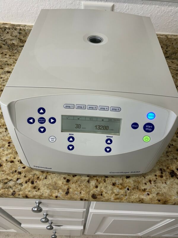 Eppendorf 5430 Tabletop Laboratory Centrifuge