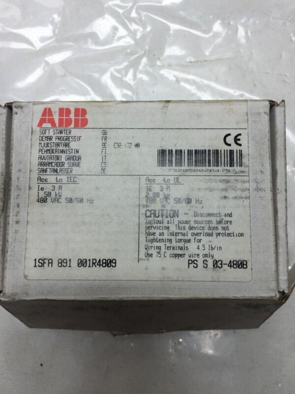 ABB 1SFA 891 001R4809 Soft Starter