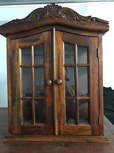 Small wooden cabinet. Heathwood Brisbane South West Preview