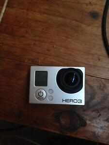 go pro hero 3 comes with charger and hard case Byron Bay Byron Area Preview