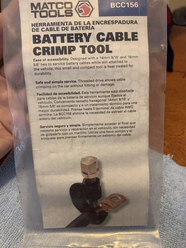 Matco Tools Battery Cable Crimp Tool BCC156