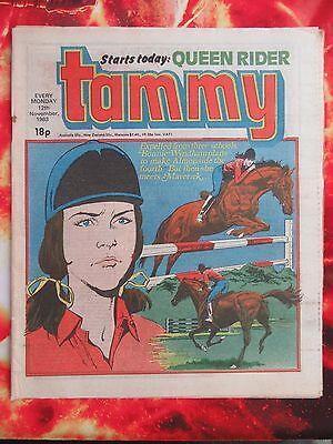TAMMY COMIC. 12 NOVEMBER 1983 UNREAD/UNSOLD NEWSAGENT STOCK. VFN+