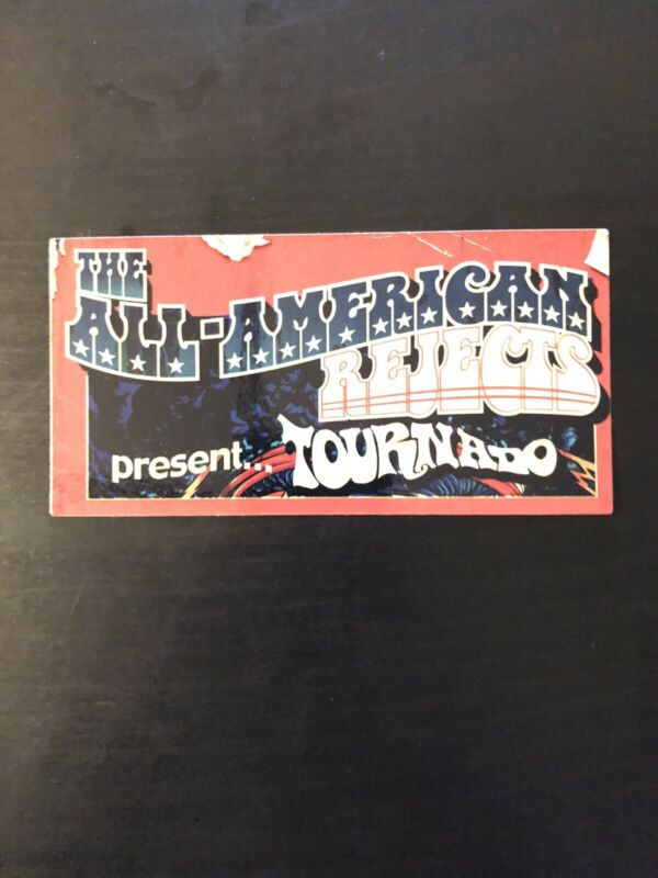 All American Rejects Tournado Sticker Blink 182 Limbeck Paramore FREE SHIPPING