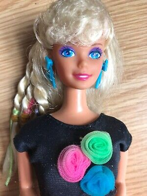Vintage 1989 Dance Club Barbie with original outfit