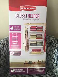 Rubbermaid Closet Organizer **NEW**