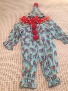 Costume de clown pour enfant  4 -5 ans