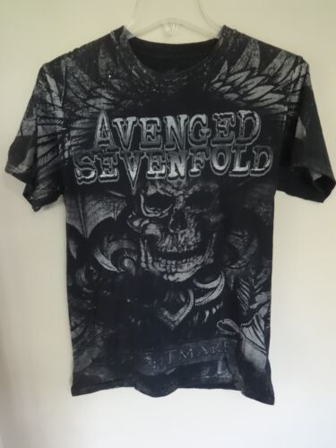 Vintage Avenged Sevenfold - Nightmare - A7X - All Over Print Band T-Shirt Men S
