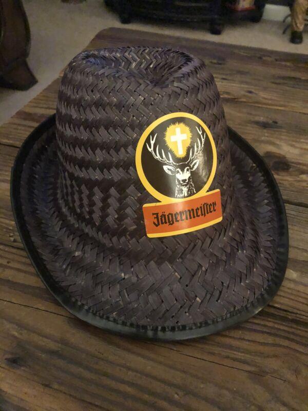 NOS Jagermeister Octoberfest Fedora Straw Hat Promo