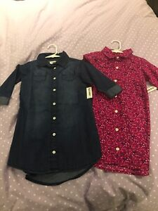 NWT old navy shirt dresses 5T