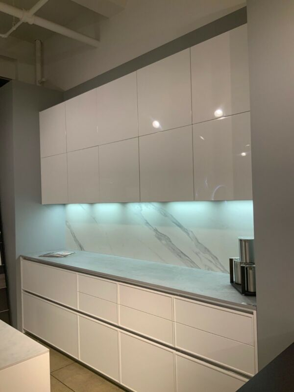 Custom Italian high end kitchen cabinets and countertop for sale