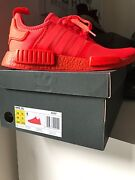 Adidas NMD Solar Red US 10 DS Bondi Junction Eastern Suburbs Preview