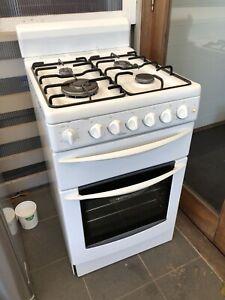 Chef Gas Stove White Enamel