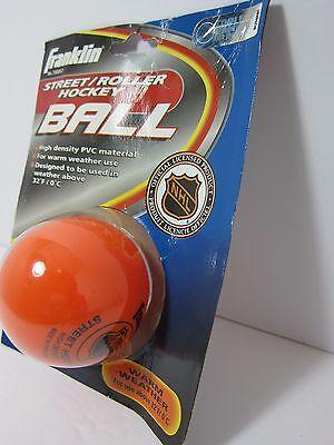 d3fd6b48b90 Franklin Sports NHL Street   Roller Hockey Ball - For Warm Weather Use -  Orange