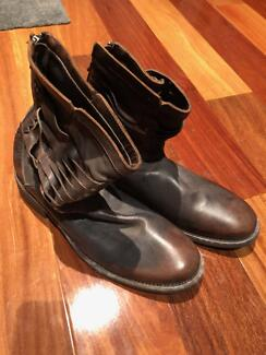 John Varvatos Mens Leather Boots US Size 11