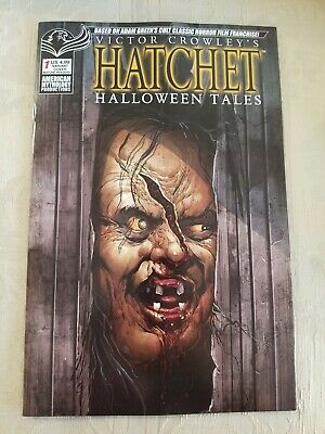 Halloween 1 Cover (Victor Crowley Hatchet Halloween Tales 1 NM+ KEY COVER)