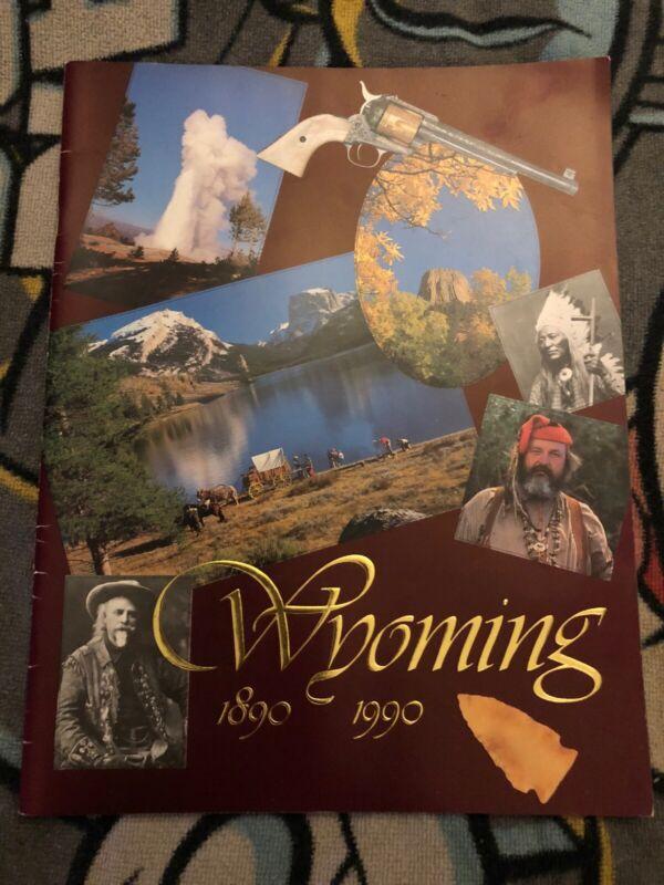 Wyoming 1990 Centennial Travel Booklet