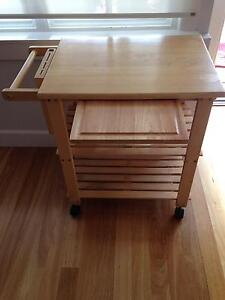 Butchers Block on Wheels Northbridge Willoughby Area Preview
