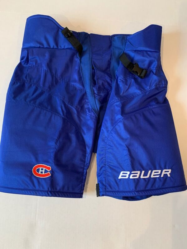 Pro Stock Montreal Canadiens 100 Classic Bauer 9k Hockey Girdle Shell, size L
