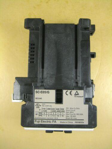 Fuji Electric  SC-E05/G  Contactor