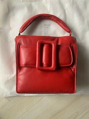 BOYY Bobby Puffed Red Handbag Pre-Owned