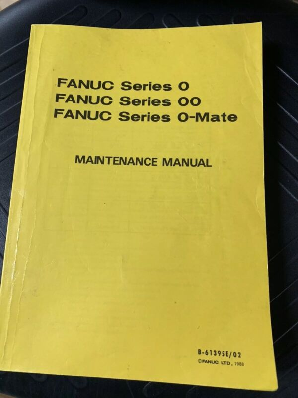 FANUC Series 0, 00, 0-Mate Maintenance Manual