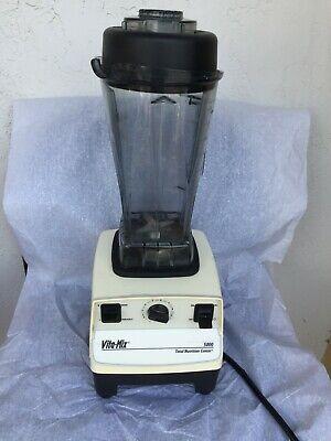 Vita-mix 5000 Blender Model Vm0103 Total Nutrition Center Blender 10 Speed