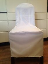 100 white chair covers perfect for wedding or party $250 Wagga Wagga Wagga Wagga City Preview