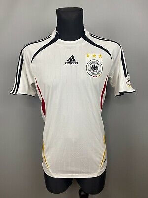 GERMANY 2005 2007 HOME JERSEY FOOTBALL SOCCER SHIRT ADIDAS 088339 MENS SIZE M image