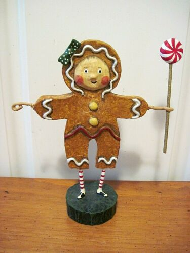 ESC Lori Mitchell New Christmas Gingerbread Girl Figure