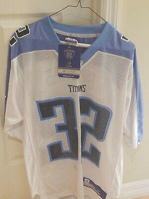 REEBOK Tennessee Titans PACMAN JONES NFL THROWBACK Jersey Adult Medium, RARE!