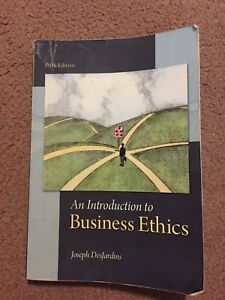 An Introduction to Business Ethics, Fifth Edition - ADMS 3660