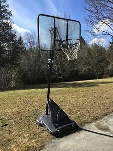 Adjustable Basketball Hoop System