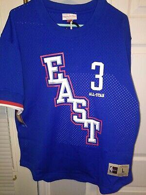 Allen Iverson  NBA All Star East Mitchell & Ness Men's Mesh Crew Neck Jersey