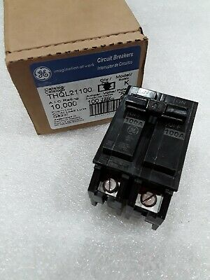 Thql21100 General Electric 2 Pole 100 Amp 240v Circuit Breaker New